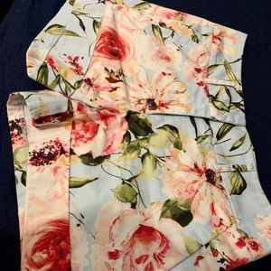 7th Ave New York and Company Floral Shorts